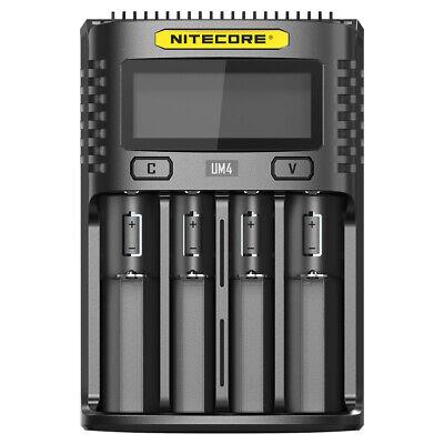 Nitecore Ladestation F2 USB-Lader für 2 Li-Ion Akkus und Powerbank 09JB158
