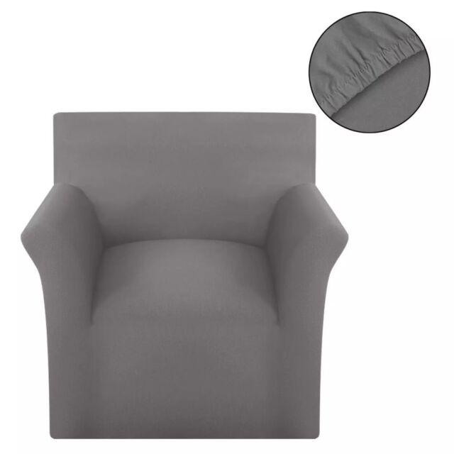 Vidaxl Fodera elasticizzata per divano tessuto cotone Grigio ...