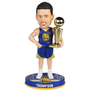 Klay Thompson Bobblehead Golden State Warriors 2015 NBA Final Champions Trophy | eBay