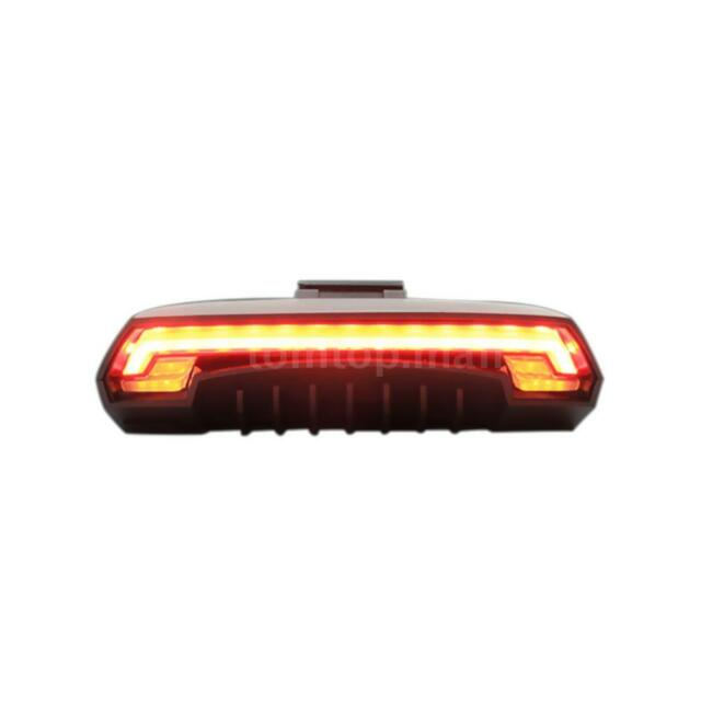 Wireless Remote Bike Bicycle Taillight Rear Lamp Smart USB Rechargeable Lamp