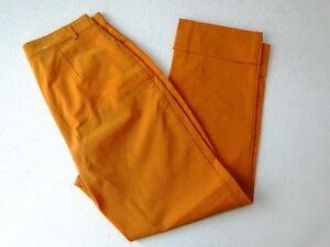 Stretch Gr Stoffhose donna Mac 36 Hose Orange Uni YdT5qw