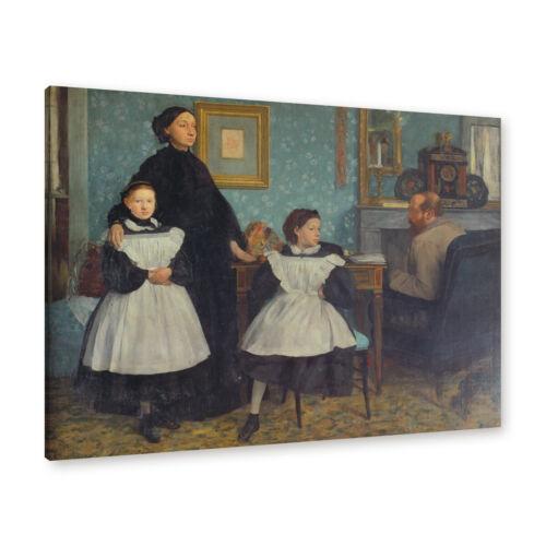 "WANDKINGS Leinwandbild Edgar Degas /""die Familie Bellelli/"""