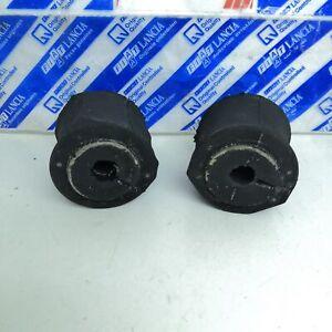 Set 2 Rubbers BAR Stabiliser Link Rear Fiat Panda Original 51856956