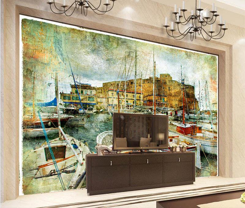 3D Terminal Ships 74 Wall Paper Murals Wall Print Wall Wallpaper Mural AU Lemon