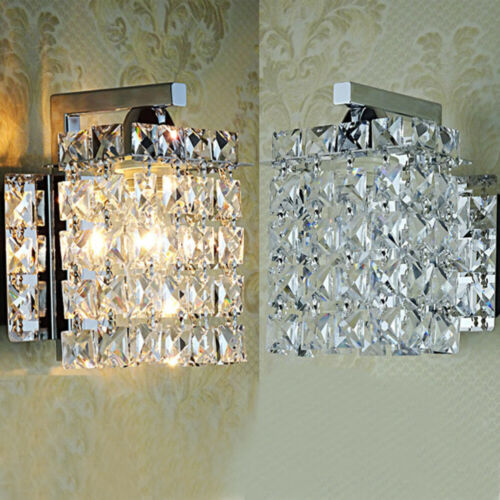 Modern Kristall Wandleuchte Wandlampe Schlafzimmer Flurlampen Innenleuchte Home
