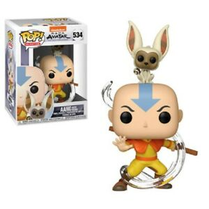 Avatar-Aang-with-Momo-Funko-Pop-Vinyl-New-in-Box