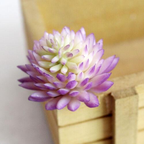 Neue 1x Gefälschte Künstliche Blumen Sukkulente Topf Home Hochzeit Dekoration
