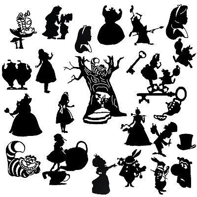 Alice in Wonderland Logo Die Cut