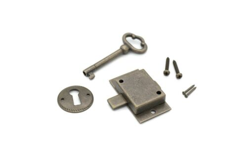 Lock flush mount lock cabinet door lock drawer lock furniture lock key lock
