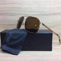 Matsuda M3010b Sunglasses Frames Smooth Gold Polarized Authentic 60mm