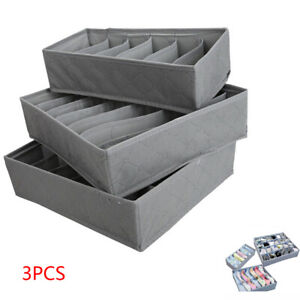 3Pcs-Drawer-Divider-Closet-Tidy-Underwear-Socks-Container-Storage-Organizer-Set