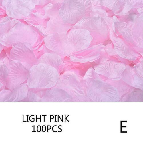 Wedding Decorations 100pcs Multi Colors Silk Flower Rose Artificial Beauty V6M9