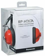 Panasonic Retro Monitor Over-Ear Headphones RP-HTX7 RP-HTX7AE-R