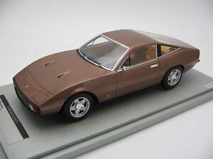 1/18 Échelle Tecnomodel Ferrari 365 Gtc-4 Metallic Bronze 1971 - Tm18-92d