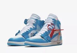 size 40 e5e0b 6253e Details about Air Jordan 1 x Off White: The Ten (University Blue UNC) Size  5.5 Men's, IN HAND!