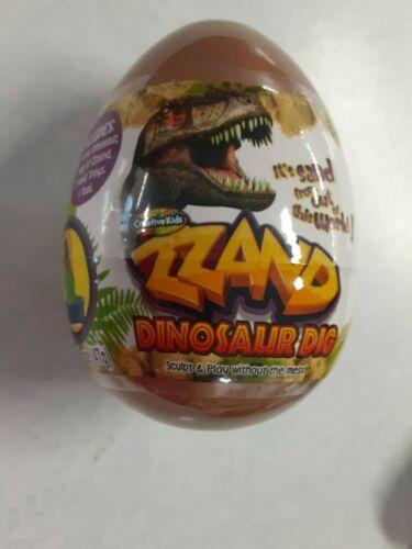Gift Zzand Dinosaur Dig Egg Excavation Kit Archaeology dig up skeleton Kid Toy
