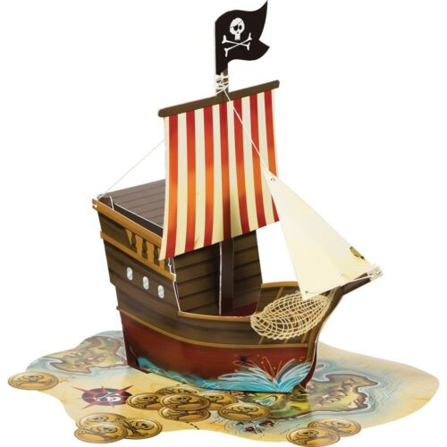 Pirate Treasure Map Party Tableware Decorations /& Balloons