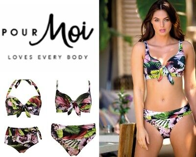 Pour Moi Malibu Padded Halterneck Bikini Top 58000 Pour Moi Swimwear
