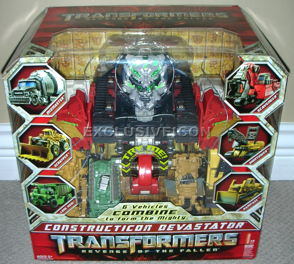 Transformers Revenge of the Fallen redF 15  Constructicon Devastator Canadian