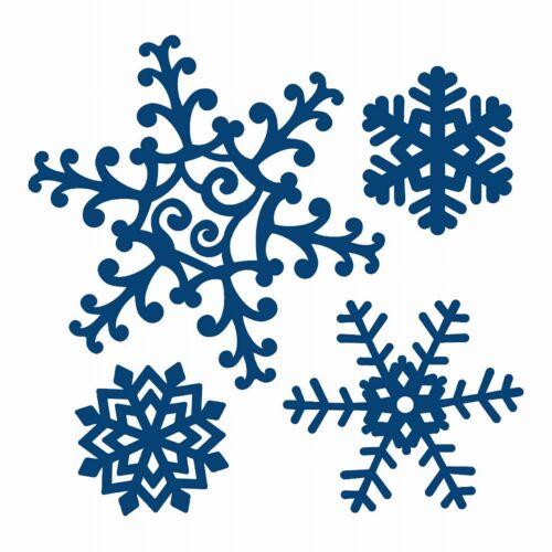 Tattered lace noel xmas metal dies flocons de neige renne free mini die /& gems