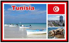 TUNISIA - SOUVENIR NOVELTY FRIDGE MAGNET - BRAND NEW - GIFT / XMAS