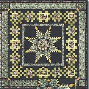 Quilt Pattern Radiant Star : Radiant Feathered Star quilt pattern by Maggie Ball of Dragonfly Quilts eBay