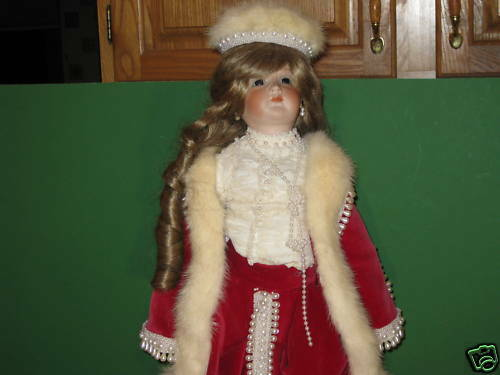 Muñecas De Elegancia Beverly Bihn Francés Retrato Muñeca