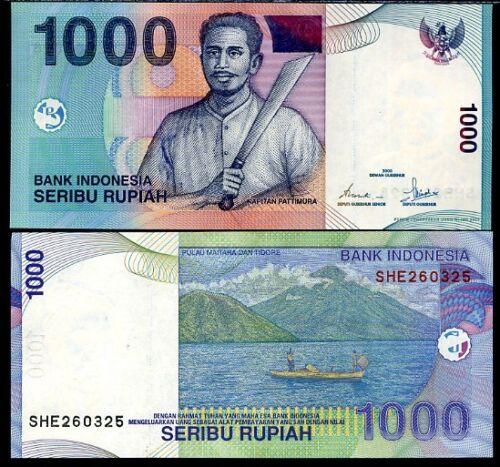 INDONESIA 1000 1,000 RUPIAH 2000//2002 P 141 UNC
