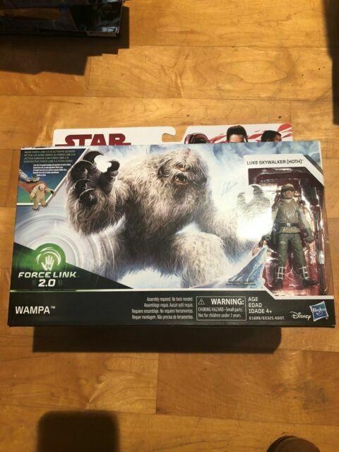 Star Wars Force Link 2.0 Wampa With Luke Skywalker Hoth Brand New Hasbro