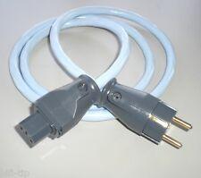 Supra Cables LoRad MKII CS EU  Netzkabel 3x2,5 mm² 10 Amp geschirmt 1 m