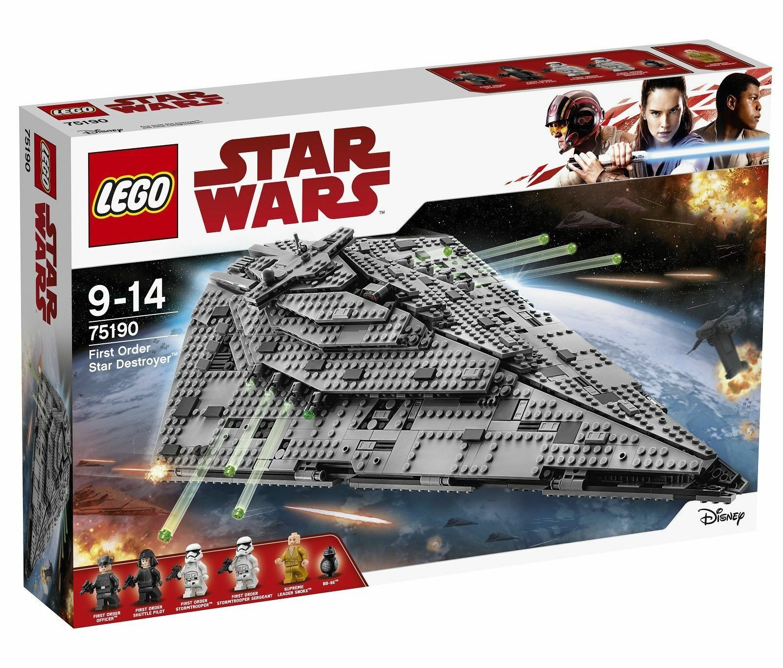 LEGO STAR WARS - 75190 - FIRST ORDER STAR DESTROYER - BRAND NEW & SEALED 2