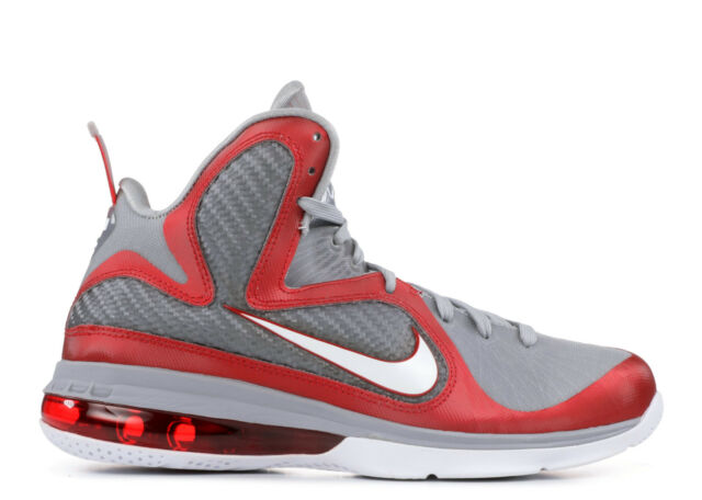 huge discount 50038 09bee Nike Lebron 9 IX Ohio State Buckeyes 11 Grey Red White 469764-601 James OSU