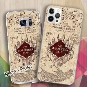 Cover personalizzata Harry Potter mappa del malandrino fans custodia Smartphone