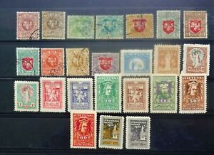 Lithuania. A small collection of early stamps
