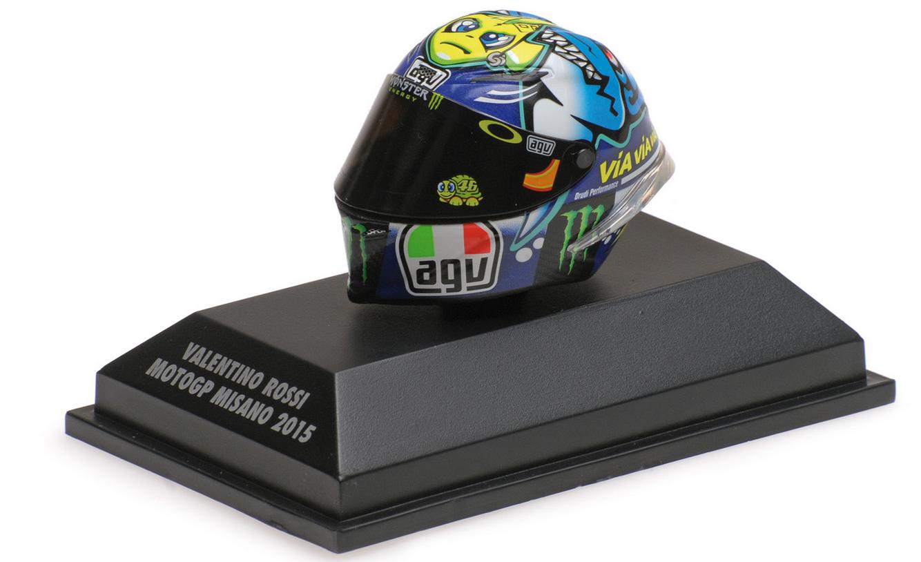 AGV Helmet V. Rossi Moto GP MUGELLO 2016  1 8 398160086 minichamps  service de première classe