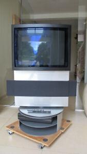 TV-Television-rotatif-Bang-amp-Olufsen-BeoCenter-AV5-avec-DVD-CD-Radio-Baffles