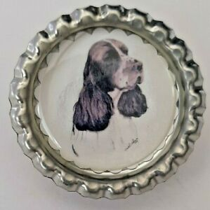English-Springer-Spaniel-Dog-Show-Ring-Clip-by-Curiosity-Crafts