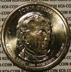 2009 John Tyler Presidential Dollar Coins BU UNC D Mint Mark