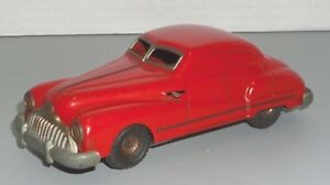 GAMA-PATENT-SCHUCO-100-WIND-UP-TOY-TIN-CAR-MADE-IN-U-S-ZONE-GERMANY-NO-KEYS