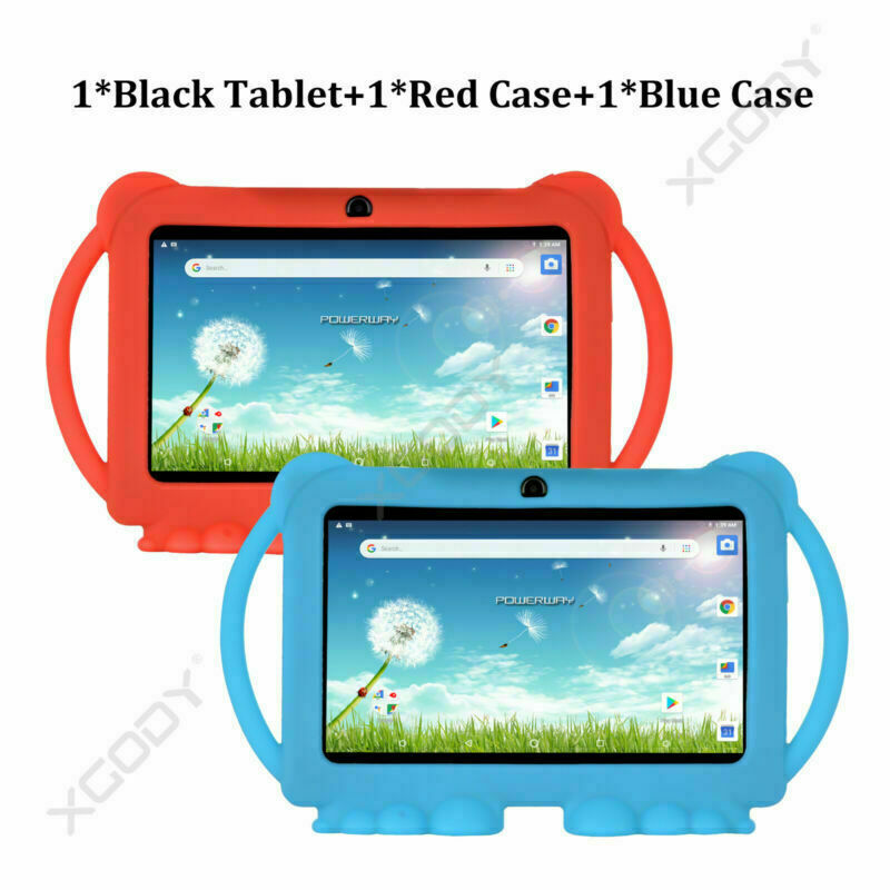 Tablet+RedCase+BlueCase