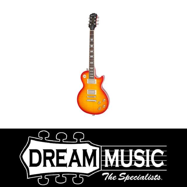Epiphone Les Paul Tribute Plus 60s Electric Guitar Faded Cherry Sunburst
