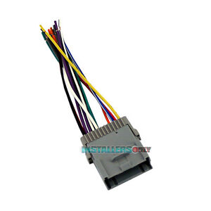 aftermarket car stereo wiring harness for gmc radio. Black Bedroom Furniture Sets. Home Design Ideas