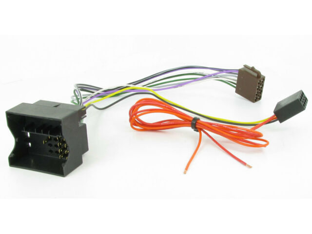 Audi A3 2005 To 2012 Quadlock Fakra Iso Harness Adapter