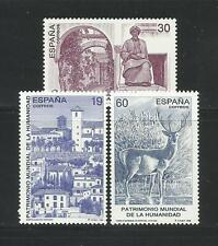 ESPAÑA. Año: 1996. Tema: PATRIMONIO MUNDIAL DE LA HUMANIDAD.