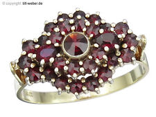 "Ring ""Granat"" 585er Gelbgold"