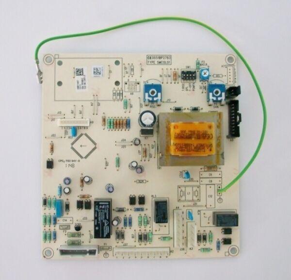 Baxi Honeywell Registerkarte Sm1147u Und Kesseldruck Luna 240 Fi