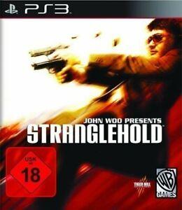 PS3-Sony-Playstation-3-Spiel-Stranglehold-DEUTSCH-mit-OVP