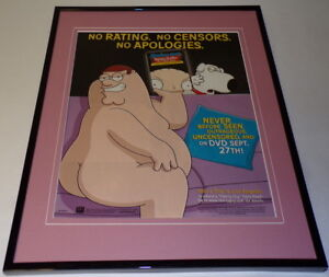 Family-Guy-Stewie-Untold-2005-Framed-ORIGINAL-11x14-Advertising-Display