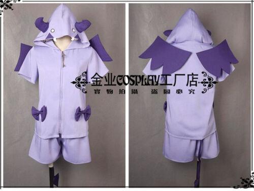 LoveLive Sunshine Aqours Tsushima Yoshiko Purple Pyjamas Devil Cosplay Costume