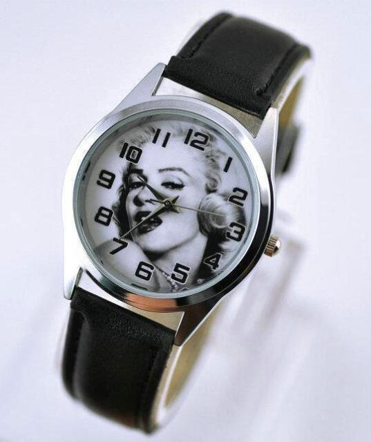 Marilyn Monroe Wrist Quartz Metal Man Women Girl  Fashion Watch MML
